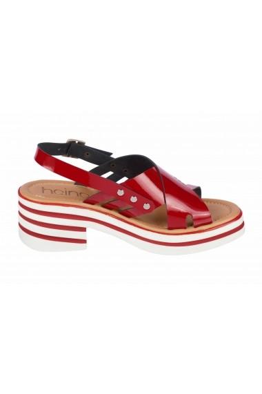 Sandale Heine 70800755 rosu - els