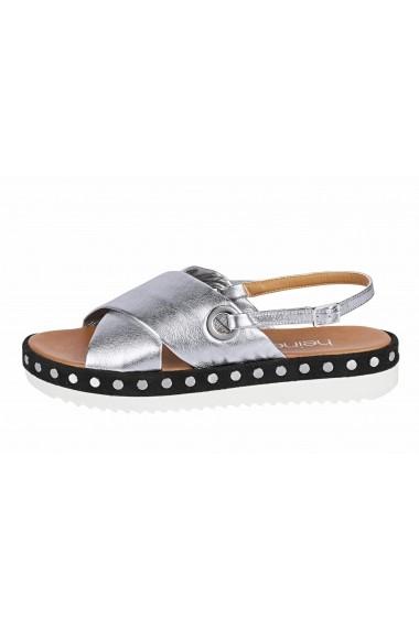 Sandale Heine 70730239 argintiu - els