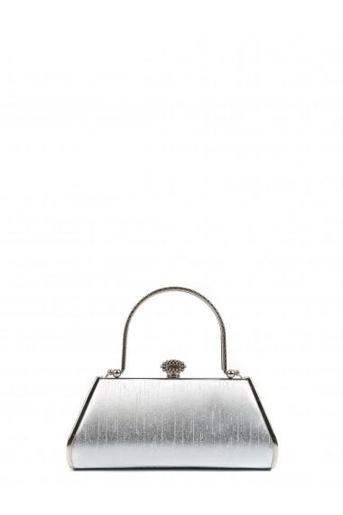 Clutch Carla Ferreri SS19 CF PO90 Argintiu