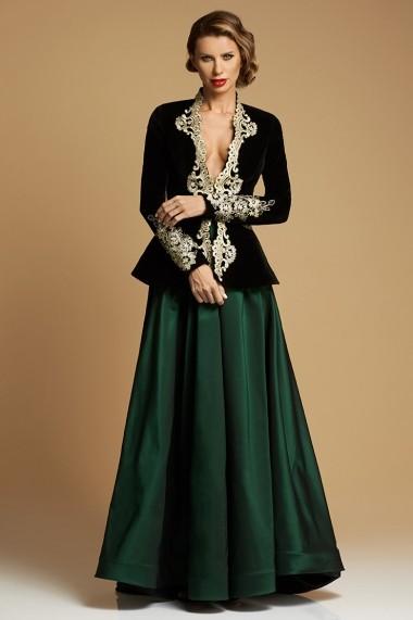 Sacou de Catifea Couture Royal