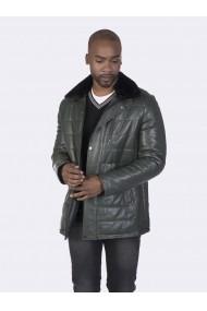 Jacheta din piele Giorgio di Mare GI2634235 Verde