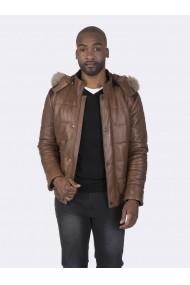 Jacheta din piele Giorgio di Mare GI6864144 Maro