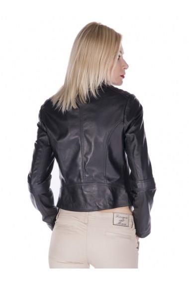 Jacheta din piele Giorgio di Mare GI9277035 Negru
