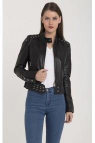Jacheta din piele Giorgio di Mare GI1346992 Negru