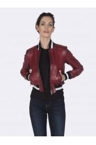 Jacheta din piele Giorgio di Mare GI5109619 Rosu
