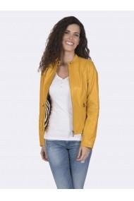 Jacheta din piele Giorgio di Mare GI8002574 Galben