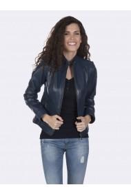 Jacheta din piele Giorgio di Mare GI6879022 Bleumarin