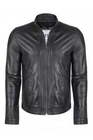 Jacheta din piele FELIX HARDY FE7089753 Negru - els