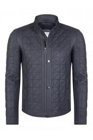 Jacheta din piele FELIX HARDY FE6384889 Bleumarin