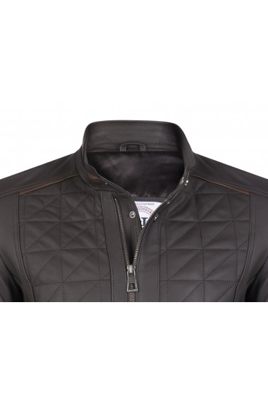 Jacheta din piele FELIX HARDY FE3180498 Maro - els
