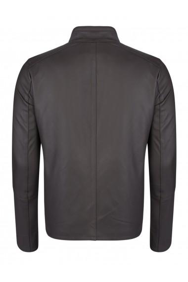 Jacheta din piele FELIX HARDY FE8435410 Maro