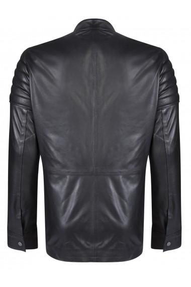 Jacheta din piele FELIX HARDY FE2603054 Negru