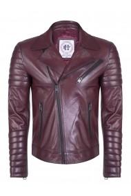 Jacheta din piele FELIX HARDY FE4650289 Bordo - els