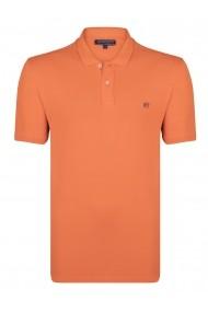Tricou polo FELIX HARDY FE5433167 portocaliu
