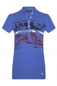 Tricou Polo FELIX HARDY FE4801562 Albastru