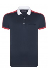 Tricou Polo FELIX HARDY FE7172126 Bleumarin
