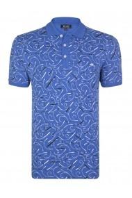 Tricou Polo FELIX HARDY FE7522304 Albastru