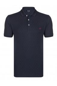 Tricou Polo FELIX HARDY FE3356003 Bleumarin
