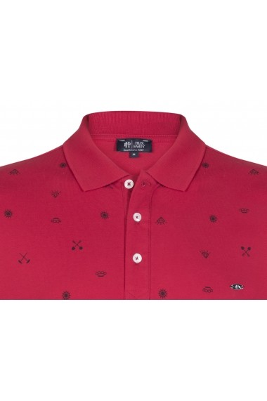 Tricou Polo FELIX HARDY FE975950 Bordo