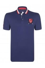 Tricou Polo FELIX HARDY FE5958573 Bleumarin