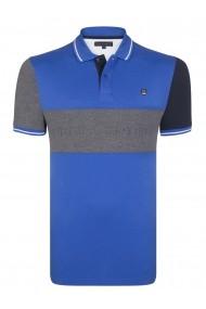 Tricou Polo FELIX HARDY FE1872704 Albastru