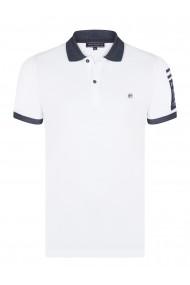 Tricou Polo FELIX HARDY FE4931989 Alb