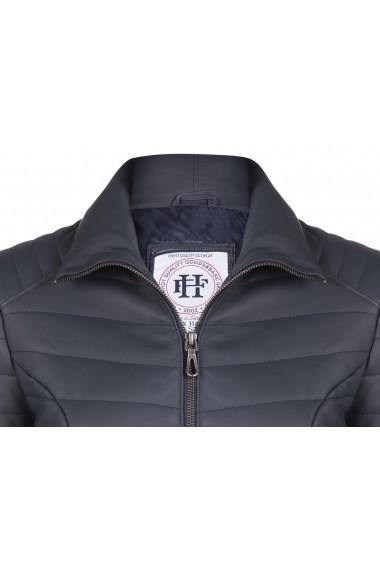Jacheta din piele FELIX HARDY FE8417795 Bleumarin