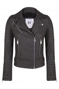 Jacheta din piele FELIX HARDY FE1789601 Maro - els
