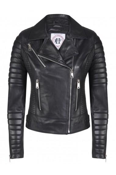 Jacheta din piele FELIX HARDY FE858853 Negru