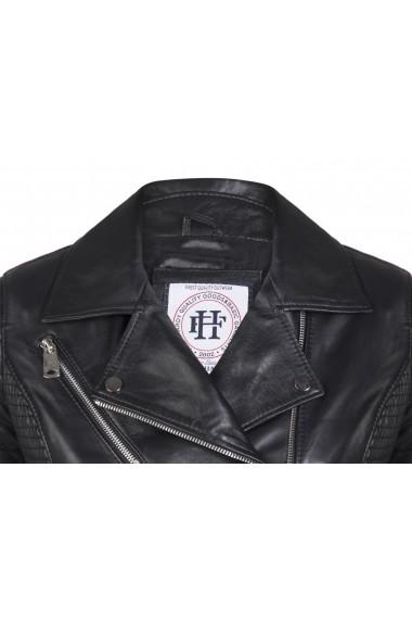 Jacheta din piele FELIX HARDY FE858853 Negru - els