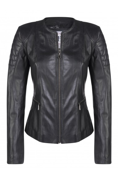 Jacheta din piele FELIX HARDY FE4580294 Negru