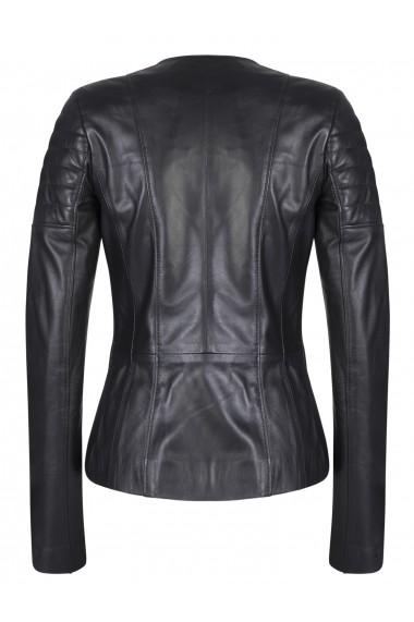 Jacheta din piele FELIX HARDY FE4580294 Negru - els