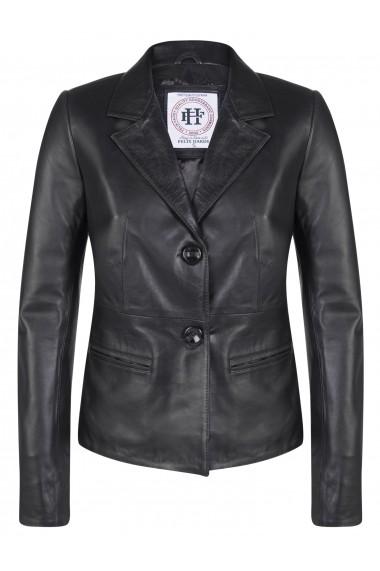 Jacheta din piele FELIX HARDY FE3527008 Negru