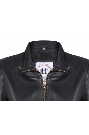 Jacheta din piele FELIX HARDY FE1503940 Negru