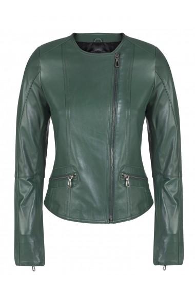 Jacheta din piele FELIX HARDY FE1906004 Verde