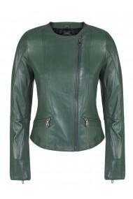 Jacheta din piele FELIX HARDY FE1906004 Verde - els