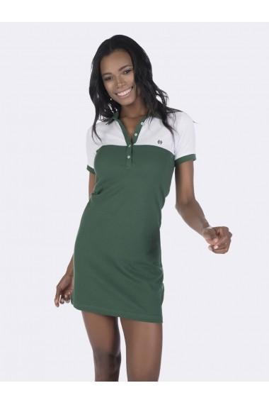 Rochie polo FELIX HARDY FE3682451 verde