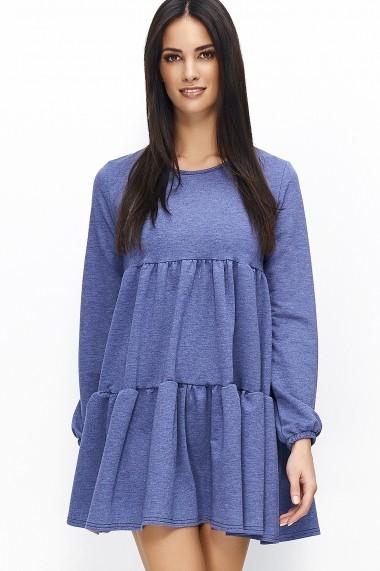 Rochie Numinou GLB-NU nu69 dark blue melange Bleumarin - els