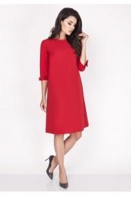 Rochie NAOKO GLB-AT101 RED rosie - els