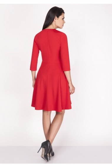 Rochie NAOKO GLB-AT105 RED Rosu