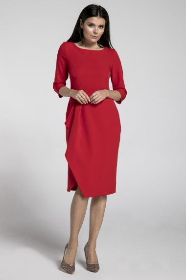 Rochie NAOKO GLB-AT171 RED rosie - els