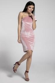 Rochie NAOKO GLB-AT175 PINK Roz - els