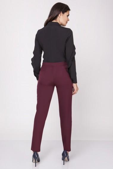 Pantaloni NAOKO GLB-AT136 MAROON Maro