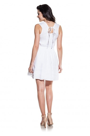 Rochie COSMO GLB-COSMO 9A710 white1 Alb - els