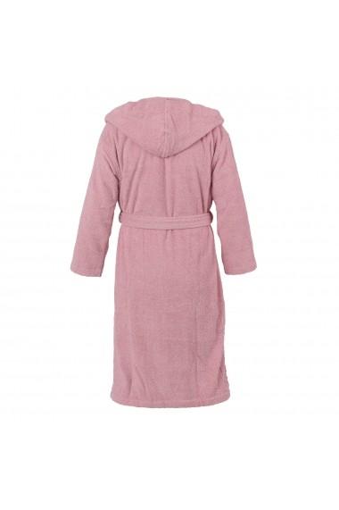 Halat de baie Casa di Bassi GLB-Hooded bathrobe-Vintage Pink Roz