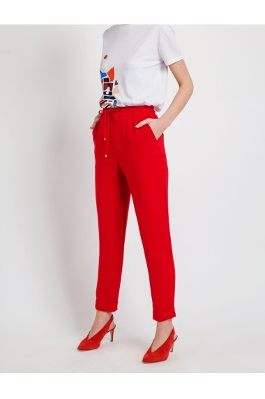 Pantaloni BGN S19P032 Rosu - els