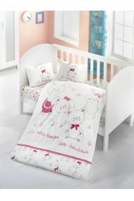 Set lenjerie de pat pentru copii Victoria ASR-121VCT2014 Multicolor
