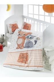 Set lenjerie de pat pentru copii Victoria ASR-121VCT2006 Multicolor