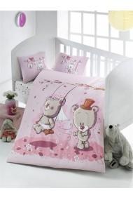 Set lenjerie de pat pentru copii Victoria ASR-121VCT2008 Multicolor