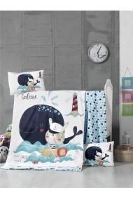 Set lenjerie de pat pentru copii Victoria 121VCT2035 Multicolor